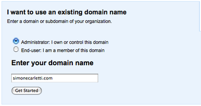 google-apps-select-domain