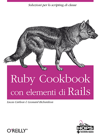 Ruby Cookbook con elementi di Rails