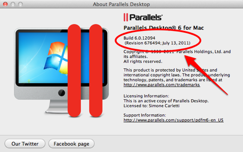 Parallels Desktop Build 6.0.12094
